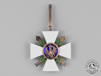 Italy, Kingdom. An Italian Order of the Roman Eagle, Commander's Cross, c. 1942