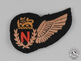 Rhodesia, Air Force. A Second War Period Rhodesian Air Force Navigator's Wing
