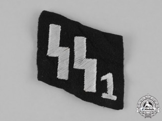 Germany, SS. A SS-Verfügungstruppe Officer's Collar Tab