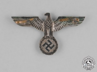 Germany, Heer. An Early Heer (Army) Visor Cap Eagle