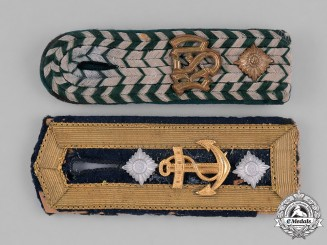 Germany, Third Reich. A Pair of Second War Period Shoulder Boards