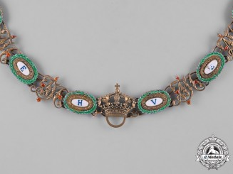 Bavaria, Kingdom. An Order of Merit of the Crown, Collar, c.1920