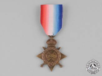 Canada. A 1914-15 Star, Mobile Veterinary Section, Canadian Army Service Corps
