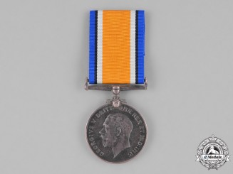 Canada. A British War Medal, Private John Baptiste Seguin, Memorial Cross Recipient in 1949