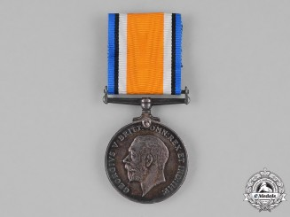 Canada. A British War Medal, to Acting Sergeant Charles Henry Fox, 156th Infantry Battalion, Canadian Machine Gun Brigade