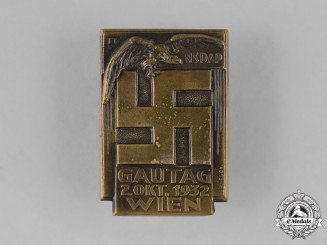 Austria. A 1932 Vienna Regional Council Day Badge