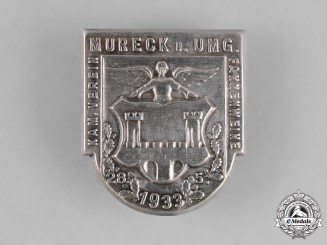 Germany. A 1933 Veteran's Association Blessing of the Flag Ceremony Badge