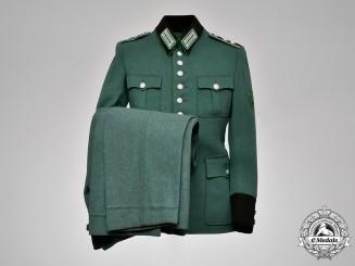 Germany, Schutzpolizei. A Schutzpolizei Municipal Police NCO's Uniform