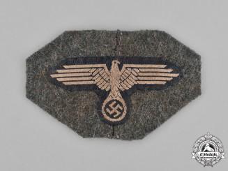 Germany, Waffen-SS. A Cut-Off Waffen-SS Field Cap Eagle