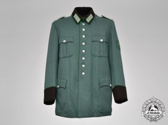 Germany, Ordungspolizei. An Aachen Schutzpolizei Meister NCO Tunic, by C. Appelrath