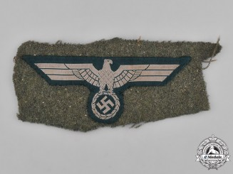 Germany, Wehrmacht. A Uniform-Removed Wehrmacht Breast Eagle