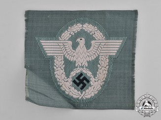 Germany, Ordnungspolizei. A Protection Police (Schutzpolizei) Sleeve Eagle