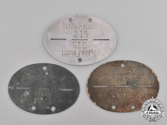 Germany, Heer. A Grouping of Second War Heer (Army) Identification Tags