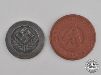 Germany, Third Reich. A Pair of Third Reich Period Badges
