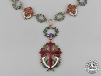 Portugal, Republic. An Order of St. James of the Sword (GCSE), Grand Cross Collar, c.1930