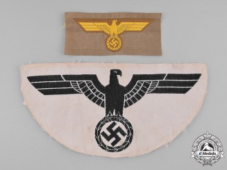 Germany, Wehrmacht. A Pair of Wehrmacht Eagle Insignia