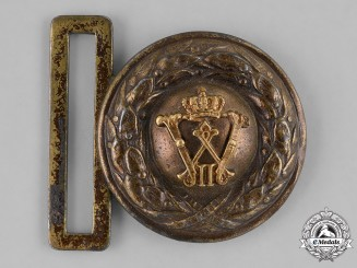 Germany, Imperial. A First War Period Officer's Belt and Buckle