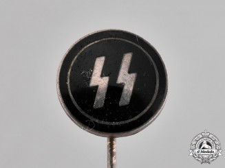 Germany, SS. A Waffen-SS Membership Stick Pin