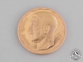 Germany, Third Reich. A Post-War Argentinean-Struck Gold 100 Reichsmark Coin