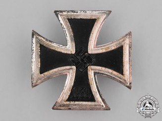 Germany, Wehrmacht. A 1939 Iron Cross First Class