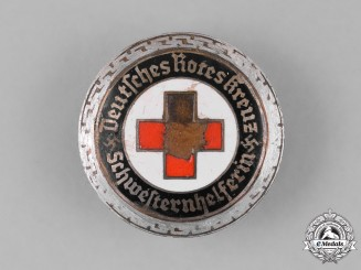 Germany, DRK. A Deutsches Rotes Kreuz (German Red Cross) Nursing Assistant Badge