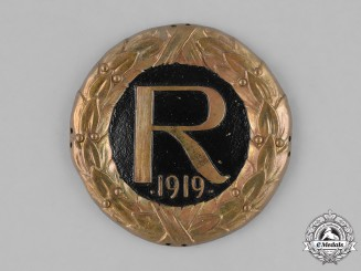 Germany, Weimar. A Sleeve Insignia of the Freikorps Reinhard, c.1919