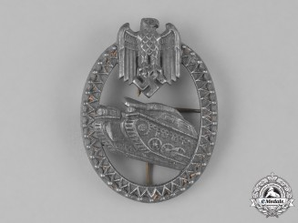 Germany, Heer. An Armored Marksmanship Lanyard Badge