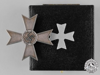 Germany, Third Reich. A War Merit Cross, I Class Without Swords, by Karl Gschiermeister