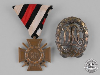 Germany. A Pair of German Medals