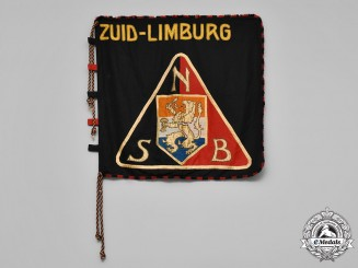 Netherlands, NSB. A NSB (National Socialist Movement in the Netherlands) South Limburg District Flag