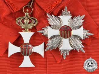 International. A Royal Sovereign Military Order of Our Lady of Mercy, Grand Cross, c.1935