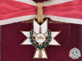 Croatia. An Order of King Zvonimir's Crown, I Class with Oak Leaves, by B. Knaus, c.1941