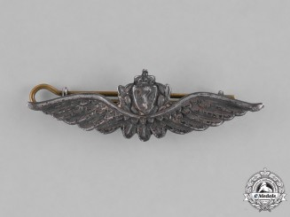 Norway, Kingdom. A Royal Norwegian Air Force Pilot Badge, c.1940