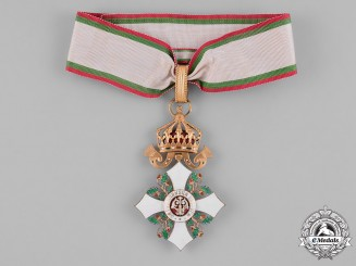 Bulgaria, Kingdom. A National Order for Civil Merit, III Class Commander, c.1930