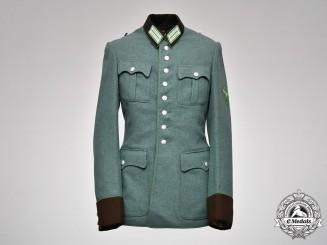 Germany, Schutzpolizei. A Municipal Police NCO's Tunic By Steiner & Keller, ca.1942