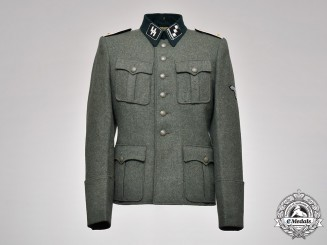 Germany, SS. A Waffen-SS Infantry Obersturmführer's Dress Tunic