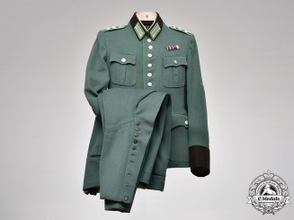 Germany, Schutzpolizei. A Schutzpolizei (Protection Police) EM/NCO's Uniform