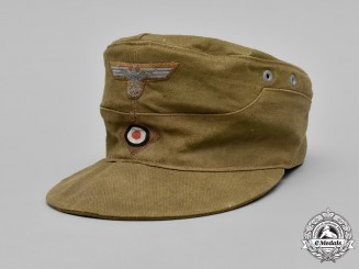 Germany, DAK. An M43 Tropical Field Cap, by Carl Halfar