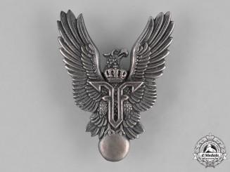 Romania, Kingdom. An Air Force Pilot Badge, c.1940