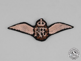 United Kingdom. A Royal Flying Corps (RFC) Pilot Badge, c.1918