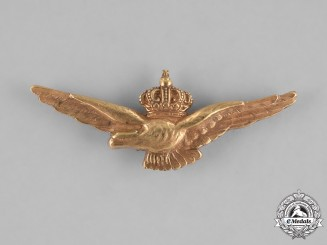 Italy, Kingdom. An Air Force Pilot Badge, c.1920