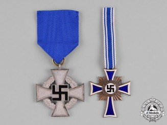 Germany, Third Reich. A Grouping of Two Second War Civilian Medals and Awards