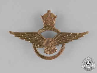 Iran (Pahlavi Empire). Imperial Iranian Air Force Cap Badge
