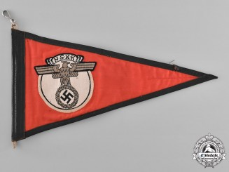 Germany. A National Socialist Motor Corps Vehicle Pennant