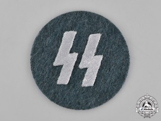 Germany, Third Reich. SS Members Runic Breast Insignia