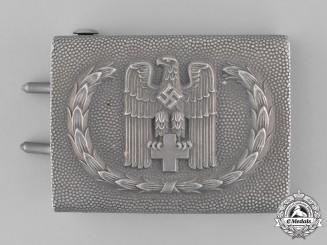 Germany, DRK. A 1938 Enlisted Pattern German Red Cross Belt Buckle