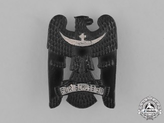 Germany, Weimar. A Silesian Eagle Badge, I Class