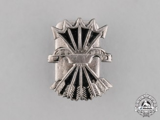 Spain, Spanish State. A Spanish Fascist (Falange) Movement Lapel Badge