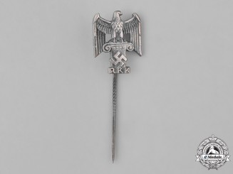 Germany, Third Reich. A Reich Chamber of Culture (RKK) Membership Stick Pin, by Deschler