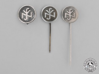 Germany, Third Reich. A Grouping of National Socialist People's Welfare (NSV) Pins